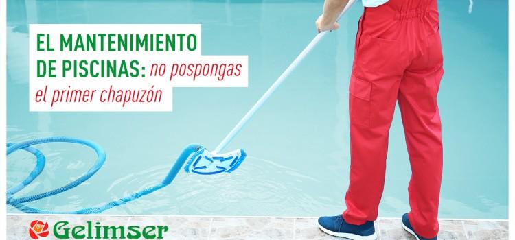El mantenimiento de piscinas: no pospongas el primer chapuzón