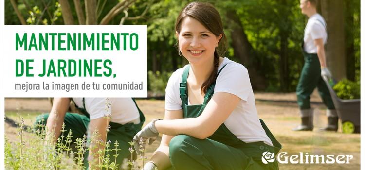 Mantenimiento de jardines, mejora la imagen de tu comunidad