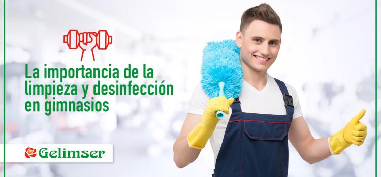 La importancia de la limpieza y desinfección en gimnasios
