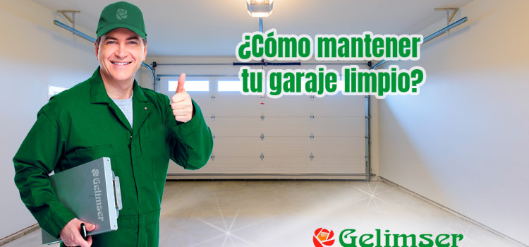 ¿Cómo mantener tu garaje limpio?