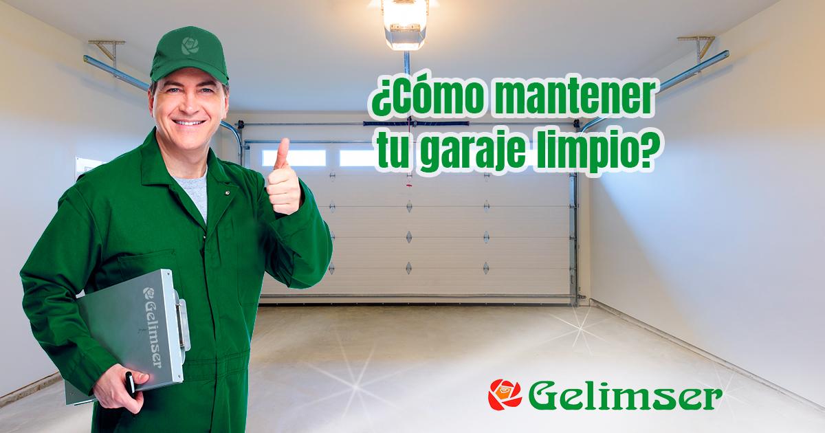mantener garaje limpio