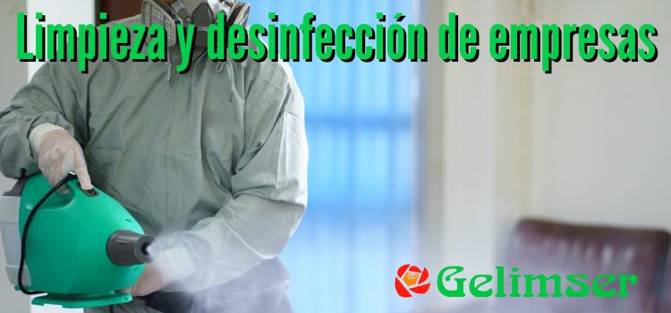 Desinfección de empresas en Málaga