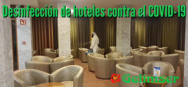 ¿Por qué es necesaria la desinfección de hoteles contra el coronavirus?